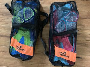 Junior reef scout mask snorkel fin set speedo for Sale in Monrovia, CA