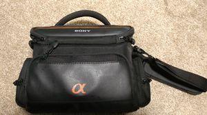 SONY alpha DSLR camera bag for Sale in Durham, NC