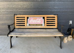 Vintage Coca Cola Bench for Sale in Westminster, CO