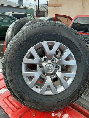 Juego de rrines para trocas tacomas 4rruner tundra Chevrolet Nissa frontier yantas muy buenas medida 16 for Sale in Montebello, CA