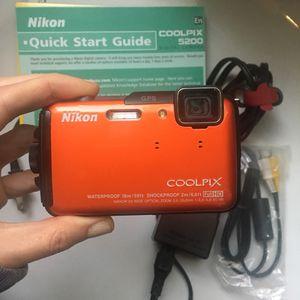 Nikon coolpix waterproof digital camera for Sale in Denver, CO