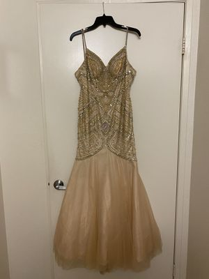 Formal dress champagne light gold for Sale in Lakeside, CA