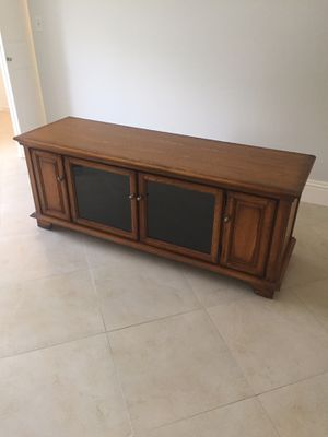 """64"""" Long TV Stand for Sale in Delray Beach, FL"""