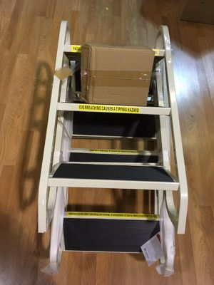 3 - Step Aluminum Rolling Ladder for Sale in Seattle, WA