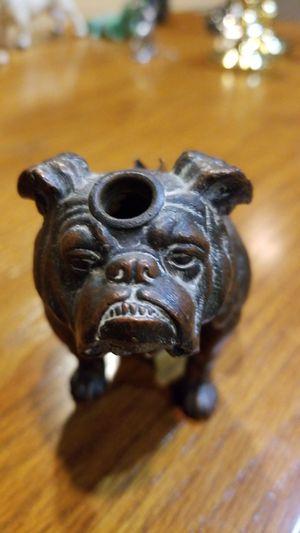 Antique bulldog desk piece for Sale in Greensburg, PA