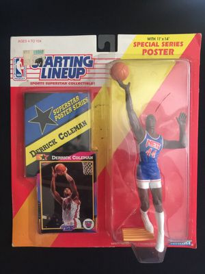 Action Figure Starting LineUp Derrick Coleman for Sale in San Diego, CA