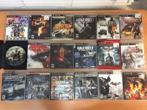 PS3 games for Sale in Plano, TX
