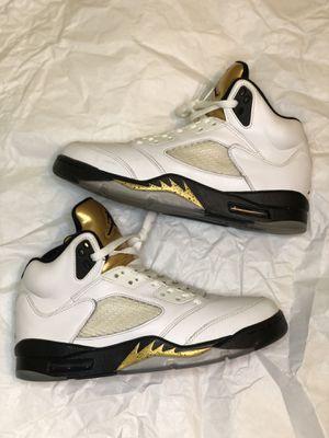 "Jordan 5 Retro ""Olympic"" size 8.5 for Sale in Houston, TX"
