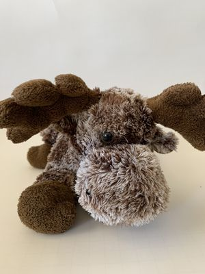 Stuffed animal moose, 10 inches, Aurora for Sale in Wylie, TX