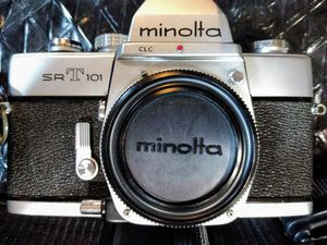 Minolta SRT 101 camera for Sale in Temple, GA
