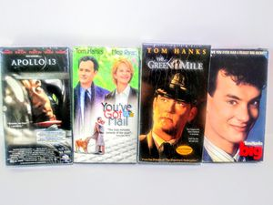 Tom Hanks VHS Lot Movies for Sale in Garland, TX