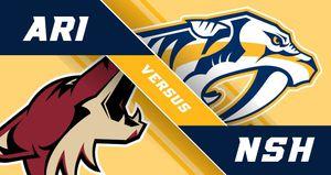 Arizona Coyotes vs Nashville Predators Tickets tonight! for Sale in Phoenix, AZ