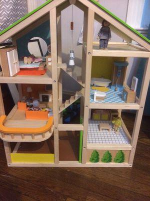 Hape brand dollhouse for Sale in Grape Creek, TX