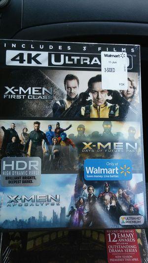 X-Men 3 film collection 4K for Sale in Dallas, TX