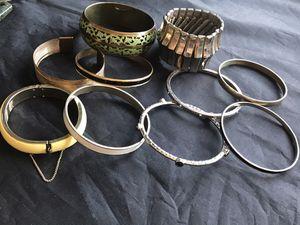 Small Bulk Lot of Vintage Bangle Bracelets for Sale in Coolidge, AZ