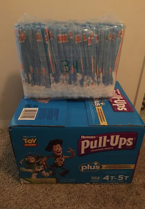 Huggies pull ups 4t-5t . Total count 136 for Sale in Annandale, VA