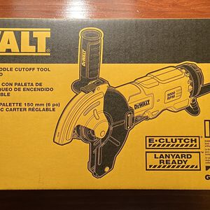 Dewalt DWE46144N 6 inch paddle switch Cutoff Grinder (BRAND NEW) for Sale in Fairview Park, OH