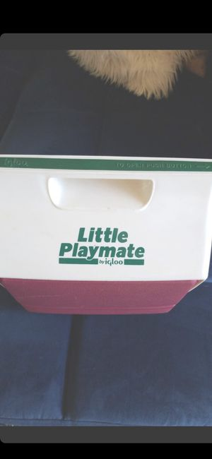 USED LITTLE PLAYMATE COOLER for Sale in Delray Beach, FL