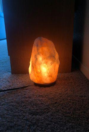 Salt rock lamp for Sale in Seattle, WA