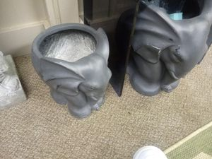 Elephant flower pots made of resin high quality for Sale in Stockbridge, GA