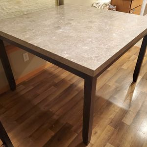 Granite Bar Height Dining Table for Sale in Damascus, OR