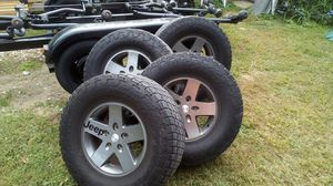 Jeep tires and wheels for Sale in Norwalk, CT