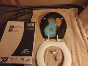 Airbrushed toilet seat. * brand new* for Sale in Joelton, TN