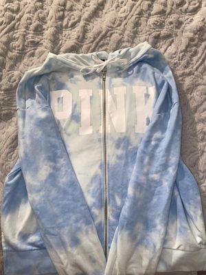 Pink Victoria Secret Zip Up Jacket for Sale in Sykesville, MD