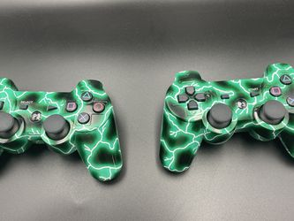 PS3 Electric Green Generic Wireless Game Controllers for Sale in Watsonville,  CA