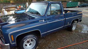 1978 Chevrolet Silverado Short Box Shell/Project for Sale in Auburn, WA