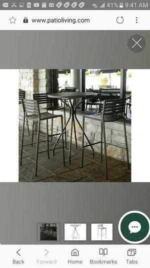 Emu Steel Stacking Bar Stools for Sale in Lynnwood, WA
