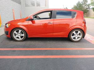 2012 Chevy Sonic 1.4L LTZ 1lz package Manual for Sale in Colorado Springs, CO