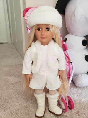 American girl doll Our Generation for Sale in Gaithersburg, MD