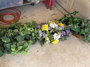 3 decorative fake plants for Sale in Porterville, CA