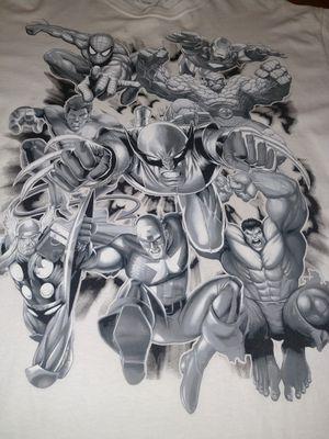 Marvel Super Heroes T-shirt Avengers Spider-Man Ironman for Sale in Newport News, VA