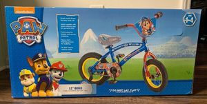 "Kids Paw Patrol 12"" Bike (New in Box) for Sale in Ashburn, VA"