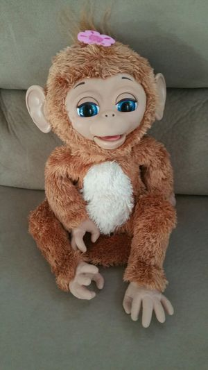 FurReal Friends Cuddles My Giggly Pet Monkey for Sale in Ashburn, VA
