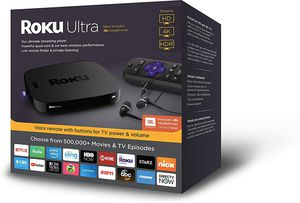 New In Box : Roku Ultra, HD/4K/HDR Streaming Media Player for Sale in Redmond, WA