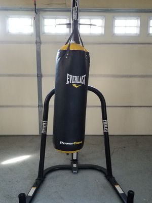 Everlast punching bag and speed bag for Sale in Downey, CA