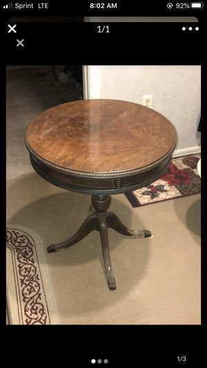 Antique Drum Table for Sale in Worcester, MA