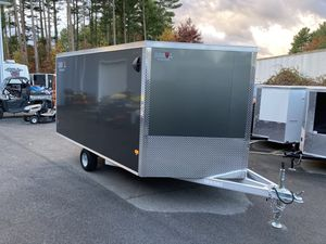 2021 DuraBull 12x101 enclosed all aluminum trailer will trade for Sale in Westford, MA