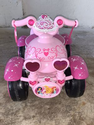Disney Princess Pink Ride On Car for Sale in Alexandria, VA