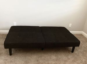 Dark brown futon for Sale in Phoenix, AZ
