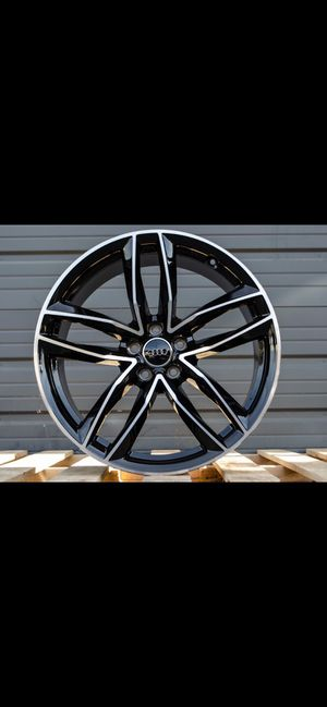 """Audi 20"""" new rs style rims tires set for Sale in Hayward, CA"""
