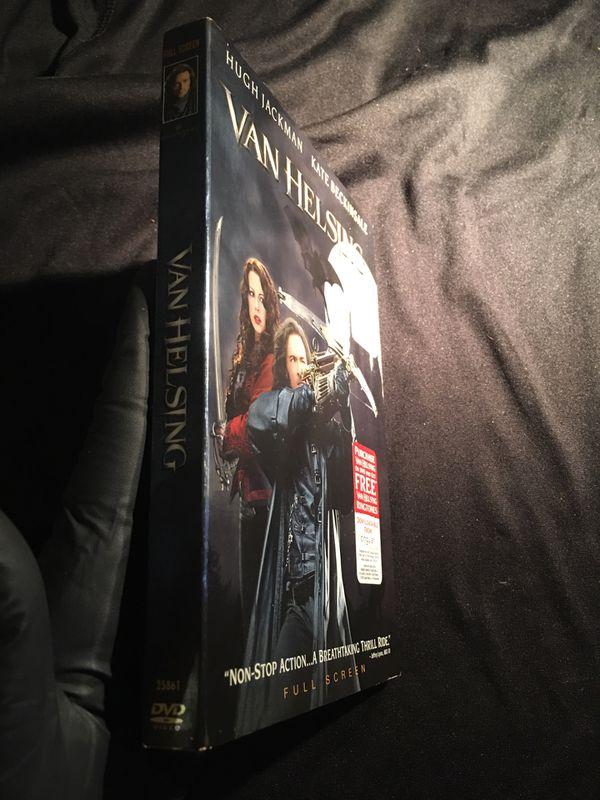 Van Helsing Hugh Jackman Kate Beckinsale DVD FULL SCREEN USED CONDITION