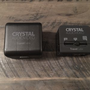 UNIVERSAL POWER ADAPTOR. (CRYSTAL AUDIOVIDEO TRAVEL CUBE) for Sale in Chapel Hill, NC