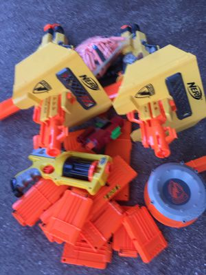 Nerf 4 Guns all asserts. Look at pictures for Sale in West Palm Beach, FL