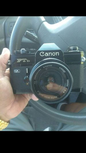 Canon ftb camera for Sale in El Monte, CA