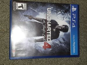 uncharted 4 for Sale in Ontario, CA