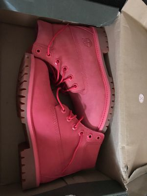 Pink Timbs Size 4 for Sale in PA, US